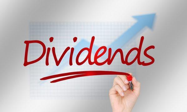 Con il crollo della borsa aumenta il valore % dei dividendi